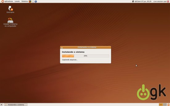 Instalação Ubuntu 9.04