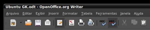 OpenOffice em Português (UbuntuGK)